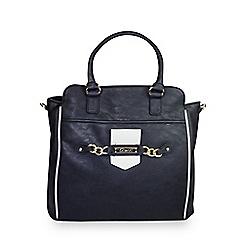 Gionni Accessories - Black 'Stefani' large tote