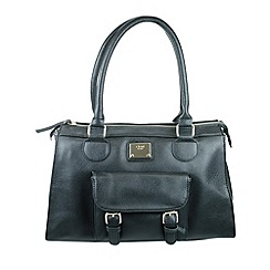 Gionni Accessories - Black 'Tatum' front pocket shopper