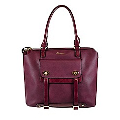 Gionni Accessories - Berry 'Trista' large city tote