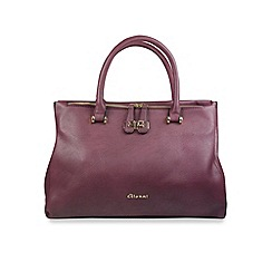 Gionni Accessories - Oxblood 'Nura' multi gusset tote bag
