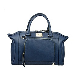 Gionni Accessories - Navy 'Enid' large double handled handbag