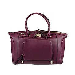 Gionni Accessories - Berry 'Enid' large double handled handbag