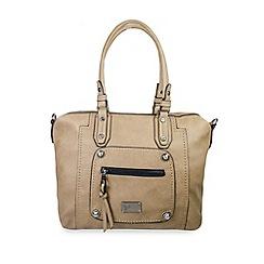 Gionni Accessories - Almond 'Coretta' double handled tote bag