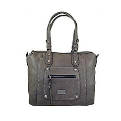 Gionni Accessories - Grey 'Coretta' double handled tote bag