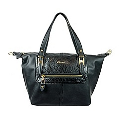 Gionni Accessories - Black 'Arnette' large double handle shoulder bag