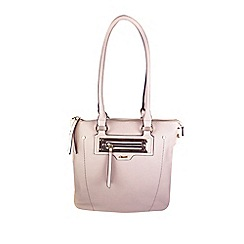 Gionni Accessories - Blush ' Anja ' zip pocket feature tote bag