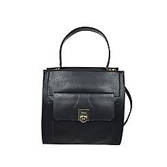 Gionni Accessories - Black ' Alessandra ' top handle tote bag