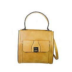 Gionni Accessories - Camel ' Alessandra ' top handle tote bag