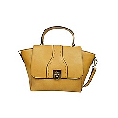 Gionni Accessories - Camel ' Alessandra ' top handle midi bag