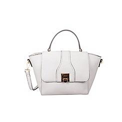 Gionni Accessories - White ' Alessandra ' top handle midi bag