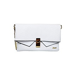 Gionni Accessories - White ' Crystal ' clutch bag