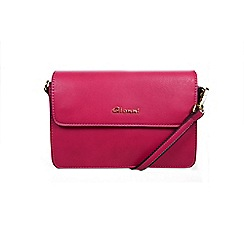 Gionni Accessories - Fuchsia ' Taylor ' flap over multi compartment cross body