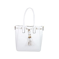 Gionni Accessories - White ' Capitana ' tote bag
