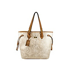 Gionni Accessories - Gold ' Alek ' tote bag