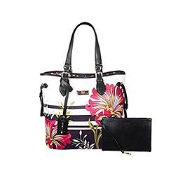 Gionni Accessories - Flower print ' Edita ' tote bag