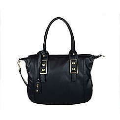 Gionni Accessories - Black Kiara double handled shoulder bag