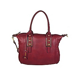 Gionni Accessories - Red Kiara double handled shoulder bag