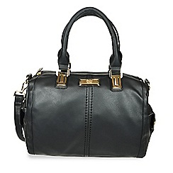 Gionni Accessories - Black Kendall hand held bag with side pockets