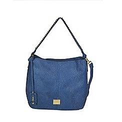 Gionni Accessories - Blue Karen chain handle slouch hobo bag