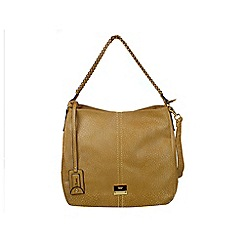 Gionni Accessories - Taupe Karen chain handle slouch hobo bag