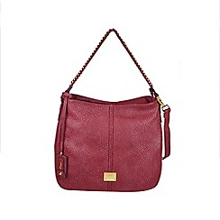 Gionni Accessories - Raspberry Karen chain handle slouch hobo bag