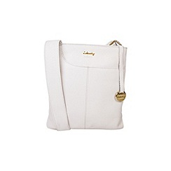 Gionni Accessories - Natural 'Shaula' leather zip top crossbody