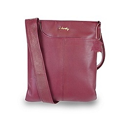 Gionni Accessories - Cherry 'Shaula' leather zip top crossbody