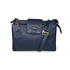 Gionni Accessories - Navy 'Shaula' leather multi functional crossbody