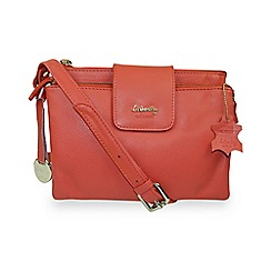 Gionni Accessories - Orange 'Shaula' leather multi functional crossbody