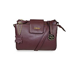 Gionni Accessories - Oxblood 'Shaula' leather multi functional crossbody