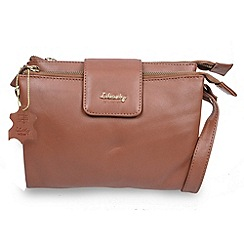 Gionni Accessories - Tan 'Shaula' leather multi functional crossbody