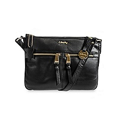 Gionni Accessories - Black 'Shaula' leather multi pocket crossbody