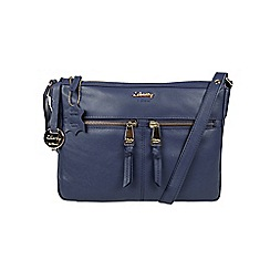Gionni Accessories - Navy 'Shaula' leather multi pocket crossbody
