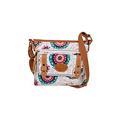 Gionni Accessories - Kaleidoscope print ' Kenna ' canvas crossbody