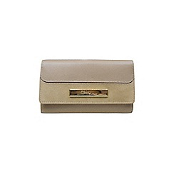 Gionni Accessories - Almond 'Eloise' flapover leather purse