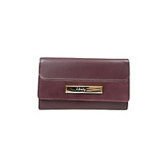Gionni Accessories - Oxblood 'Eloise' flapover leather purse