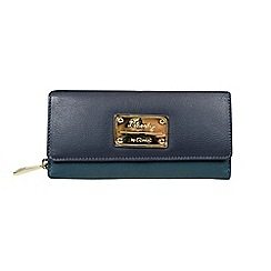 Gionni Accessories - Peacock 'Aubrey' flapover leather purse