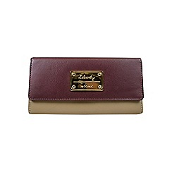 Gionni Accessories - Almond 'Aubrey' flapover leather purse