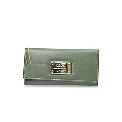 Gionni Accessories - Jade 'Avoir' leather flapover purse
