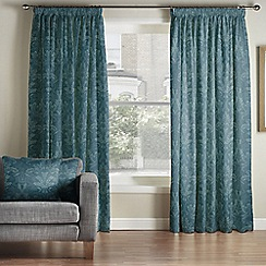 Whitehead - Benedict Peacock Pencil Pleat Curtains