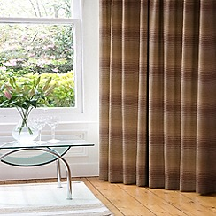 Whiteheads - Cheyenne Moss/Taupe Lined Pencil Pleat Curtains