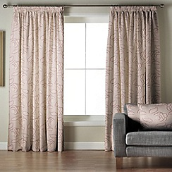 Whiteheads - Garland Heather Lined Pencil Pleat Curtains