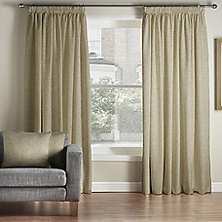 Whitehead - Livia Gold Pencil Pleat Curtains