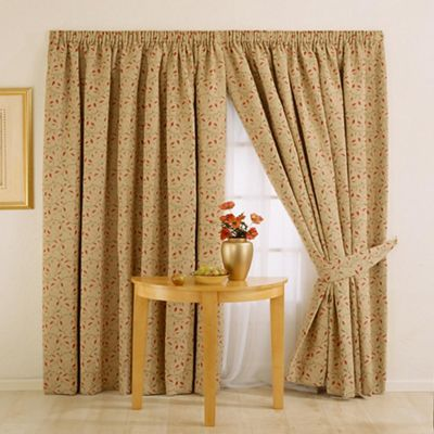 Whiteheads Heythrope Chintz Lined Curtains