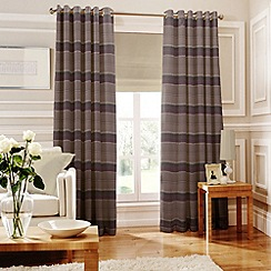 Whiteheads - Isabella Mauve Lined Eyelet Curtains