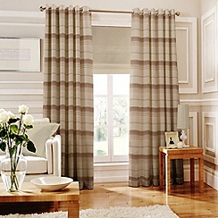 Whiteheads - Isabella Natural Lined Eyelet Curtains