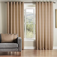 Whitehead - Kew Gold Pencil Pleat Curtains