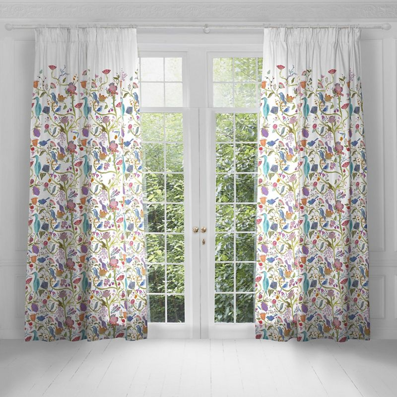 Voyage - Lindu Summer Lined Pencil Pleat Heading Curtains