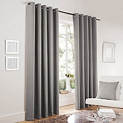 Curtina - Lincoln Silver Lined Eyelet Curtains