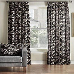 Whitehead - Lucandon Platinium Pencil Pleat Curtains